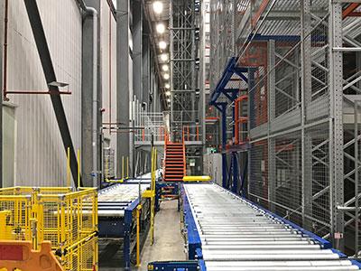 Warehouse Expansion - Britvic, UK