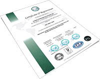 Certificate Registration ISO 14001 -2014