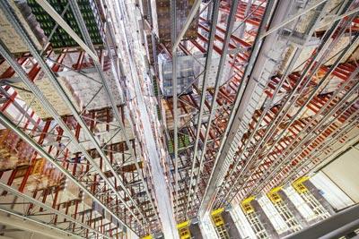 Crane Racking - Automated Warehouses